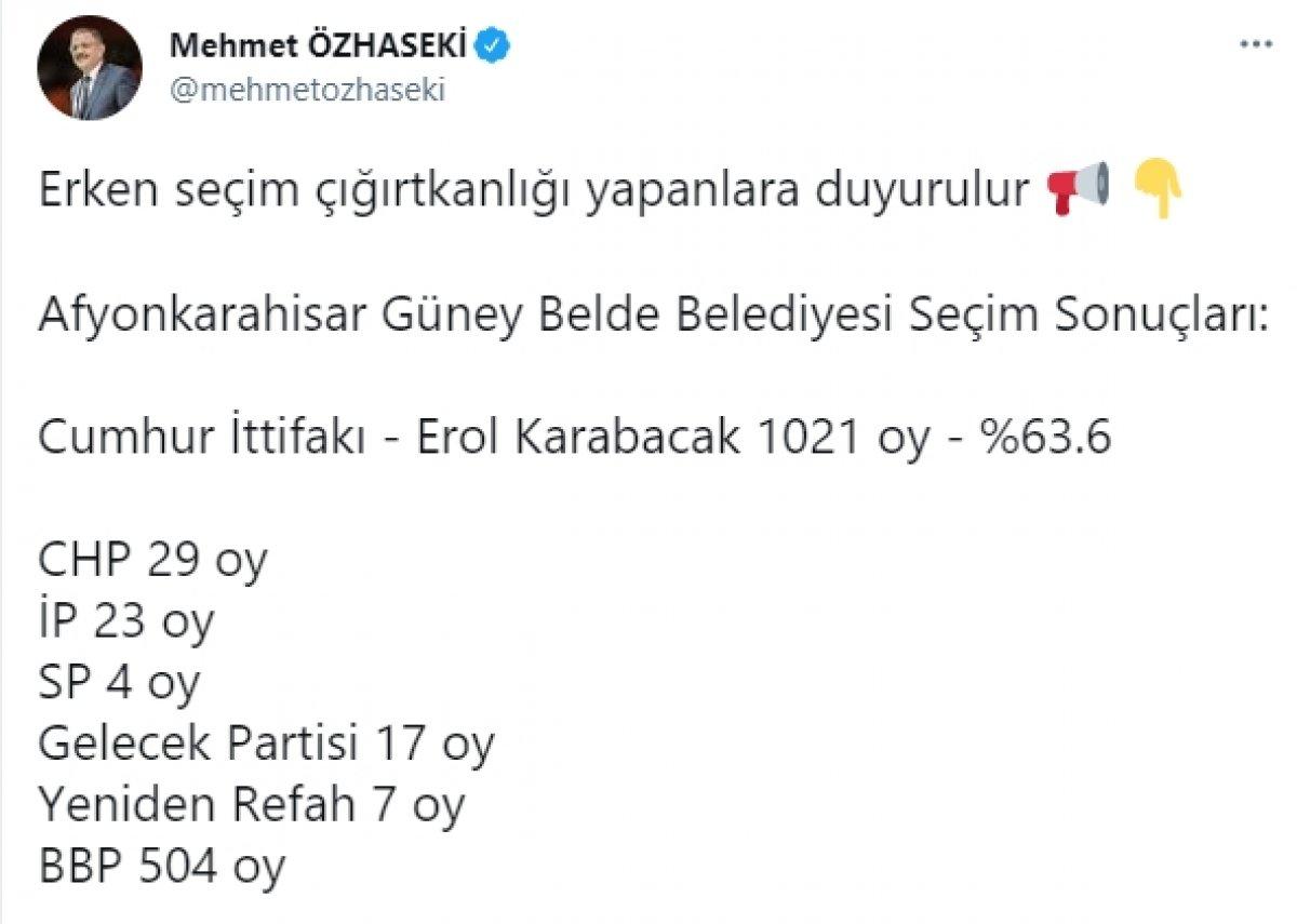 Ahmet Davutoğlu, partisi 17 oy alınca alay konusu oldu #2