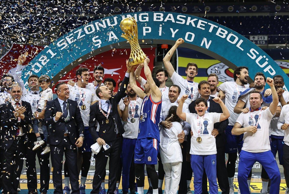 Anadolu Efes şampiyon oldu  #10