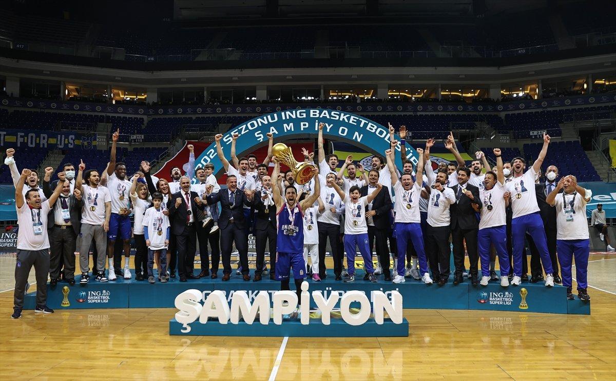 Anadolu Efes şampiyon oldu  #9