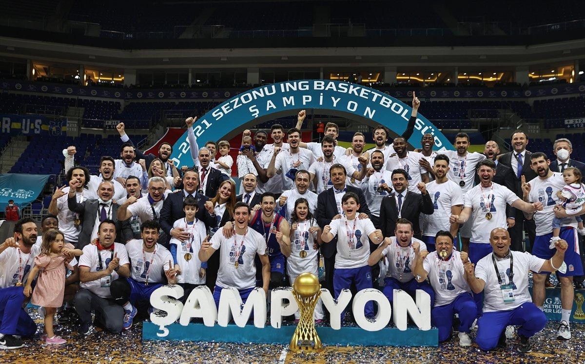 Anadolu Efes şampiyon oldu  #12