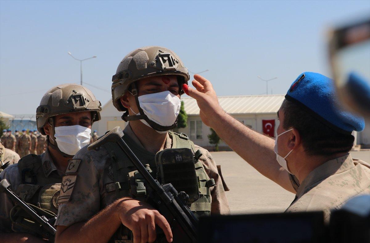 Gaziantep te komandolar Suriye ye uğurlandı #4