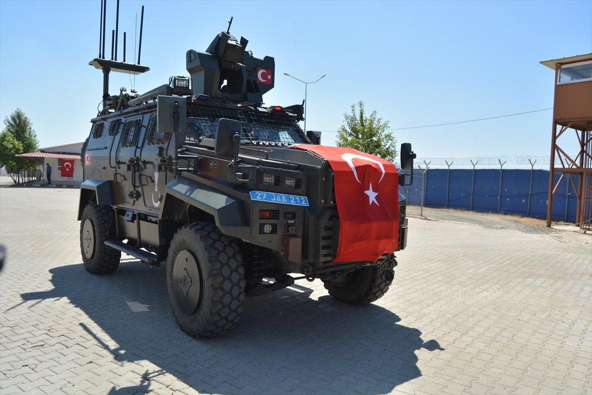 Gaziantep te komandolar Suriye ye uğurlandı #16