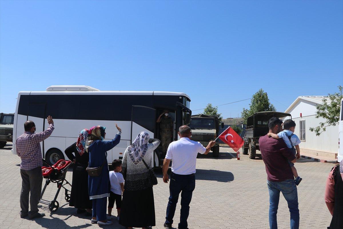 Gaziantep te komandolar Suriye ye uğurlandı #19