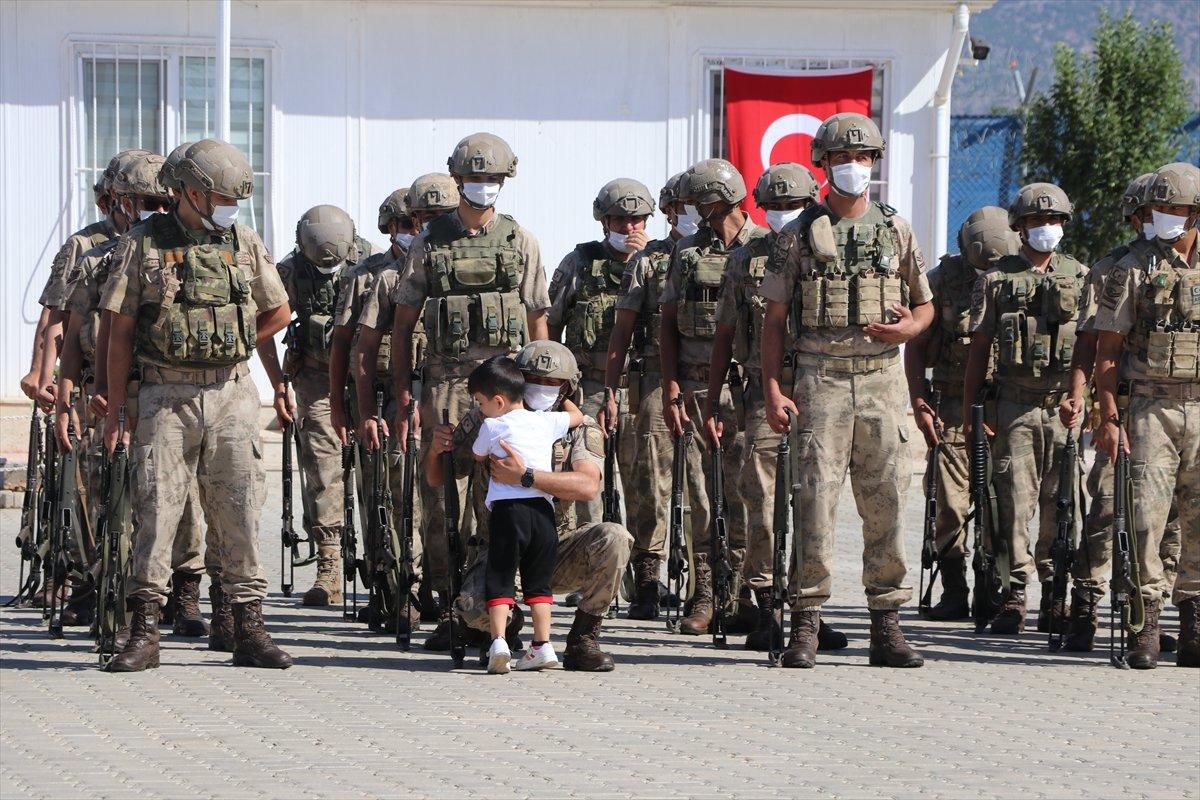Gaziantep te komandolar Suriye ye uğurlandı #6