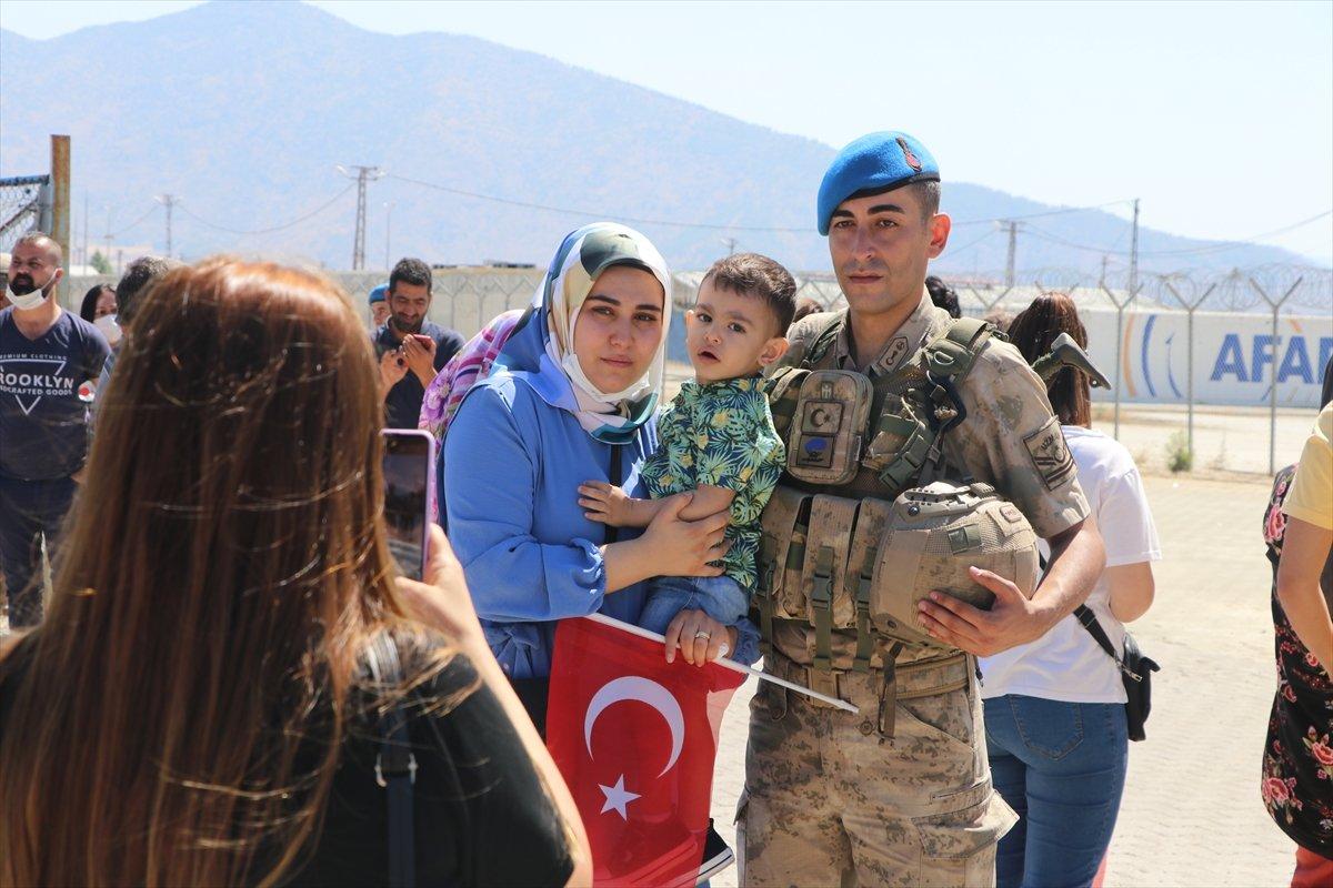 Gaziantep te komandolar Suriye ye uğurlandı #13