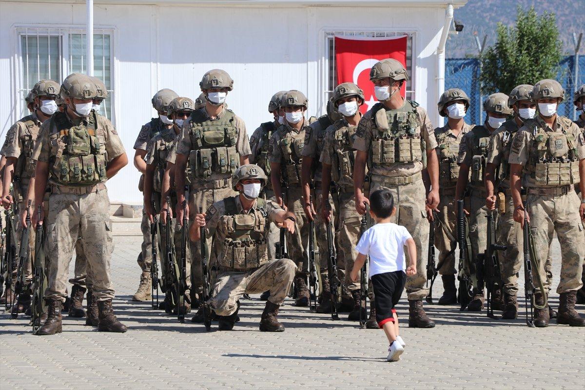Gaziantep te komandolar Suriye ye uğurlandı #5