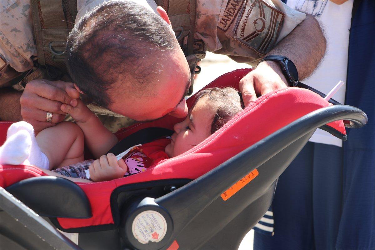 Gaziantep te komandolar Suriye ye uğurlandı #15