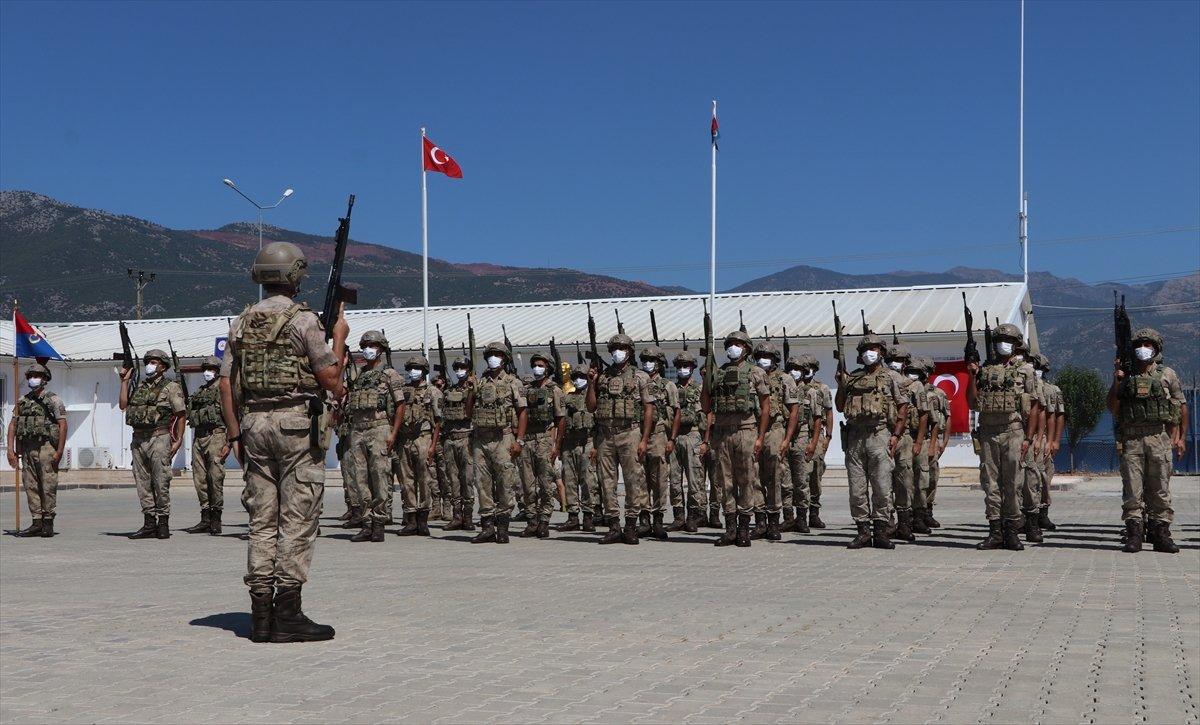 Gaziantep te komandolar Suriye ye uğurlandı #9
