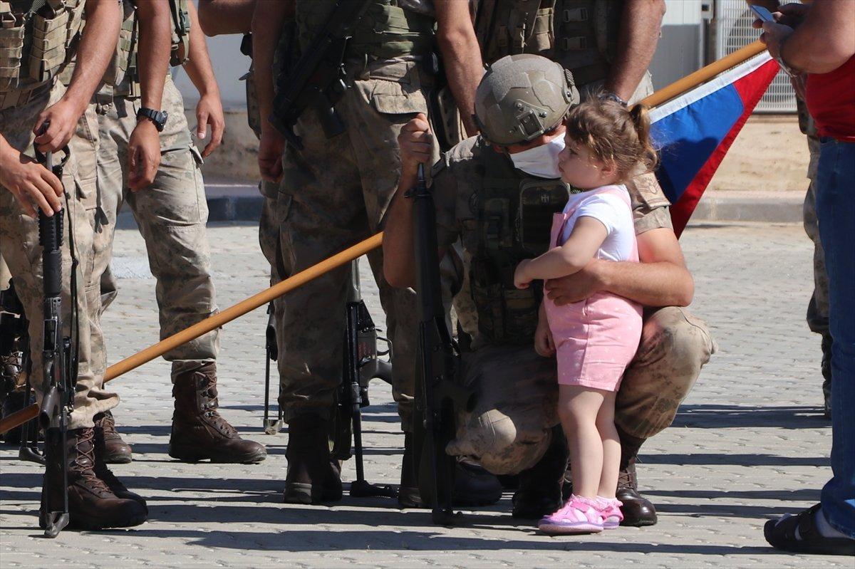 Gaziantep te komandolar Suriye ye uğurlandı #8