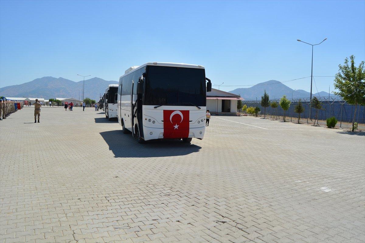 Gaziantep te komandolar Suriye ye uğurlandı #18