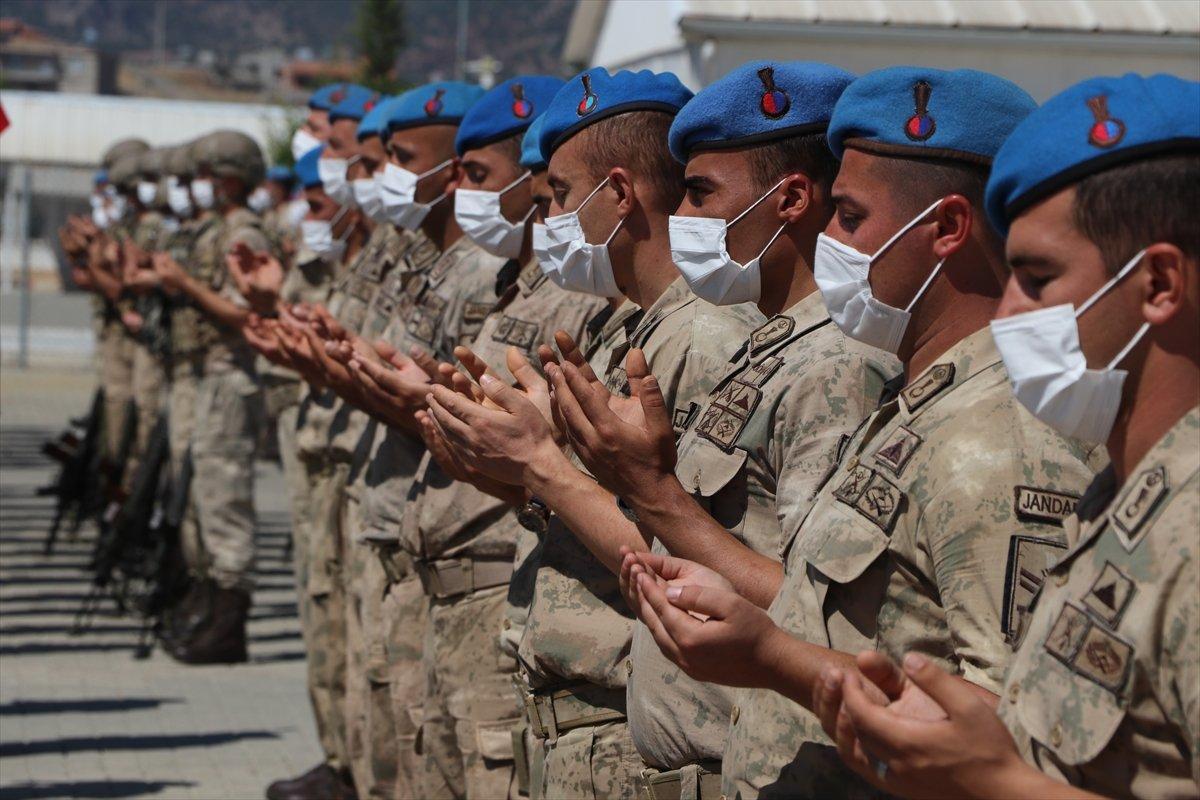 Gaziantep te komandolar Suriye ye uğurlandı #10