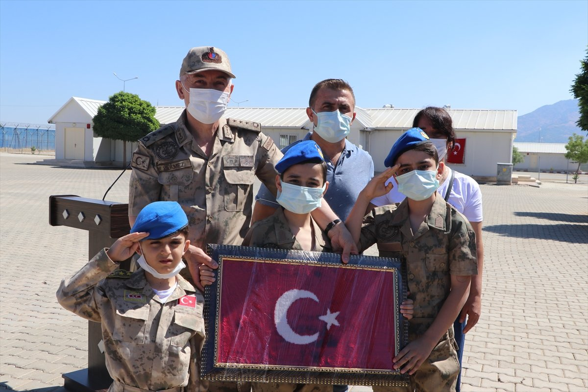 Gaziantep te komandolar Suriye ye uğurlandı #3