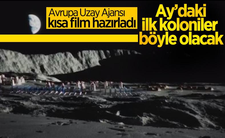 Ay'daki ilk kolonilerin nasıl olacağını gösteren kısa film yayınlandı