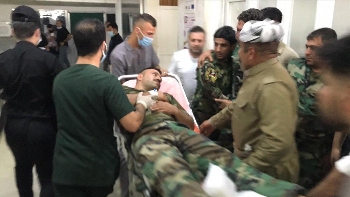 Mesut Barzani peşmergelerini öldüren PKK ya karşı intikam sözü verdi #1