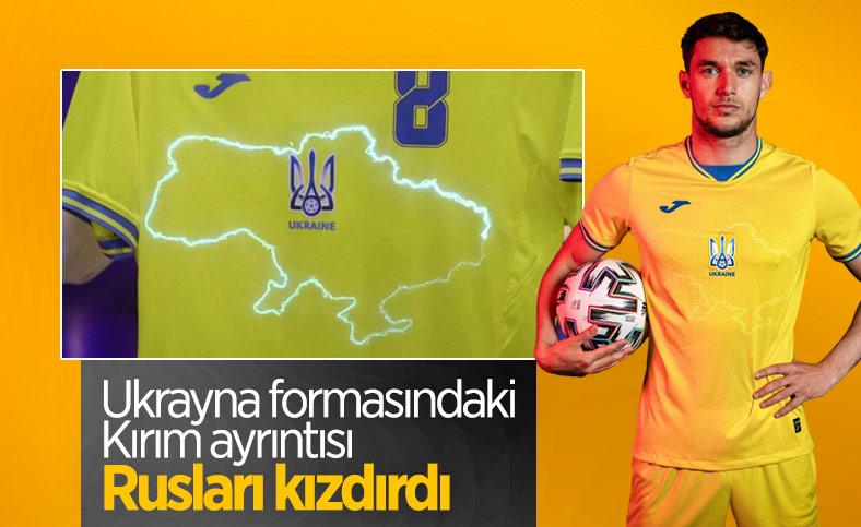 Ukrayna'nın EURO 2020 forması Rusları kızdırdı