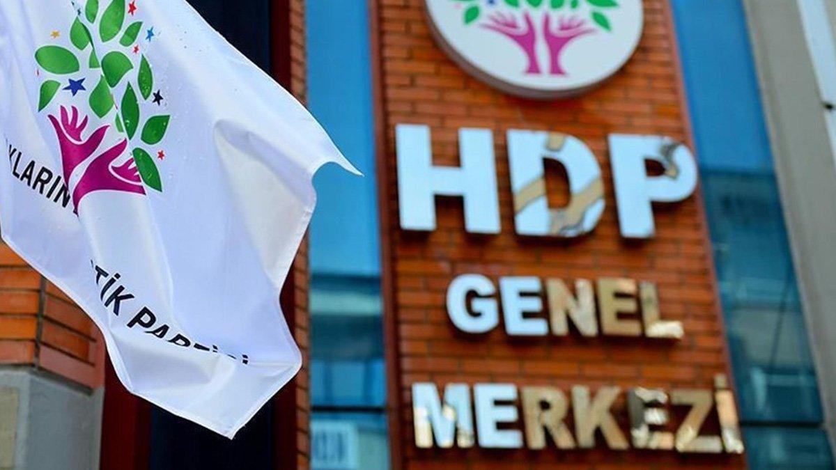 Yargıtay dan HDP ye yeniden kapatma davası #1