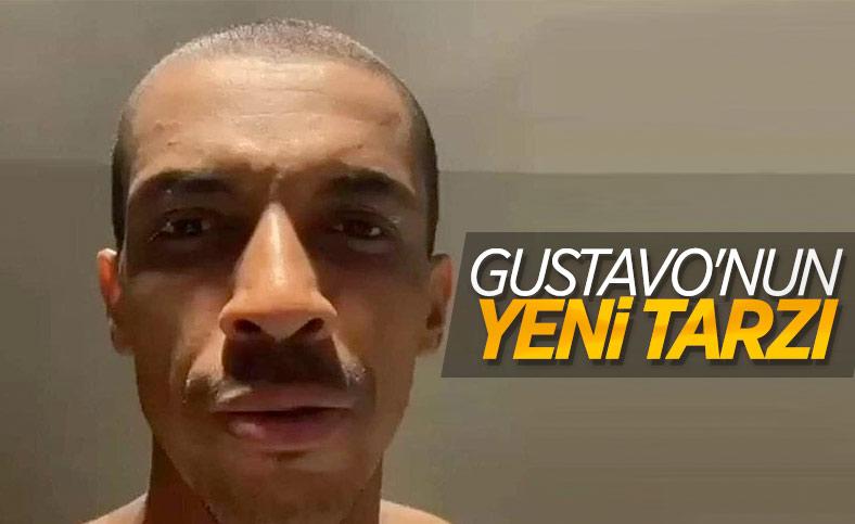 Luiz Gustavo, saçlarını kestirdi