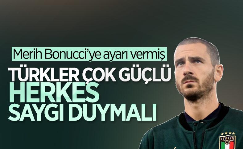 Bonucci: Türkiye çok güçlü bir takım