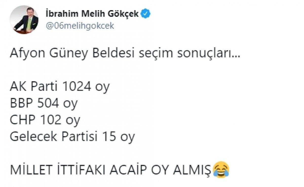 Ahmet Davutoğlu, partisi 17 oy alınca alay konusu oldu #1