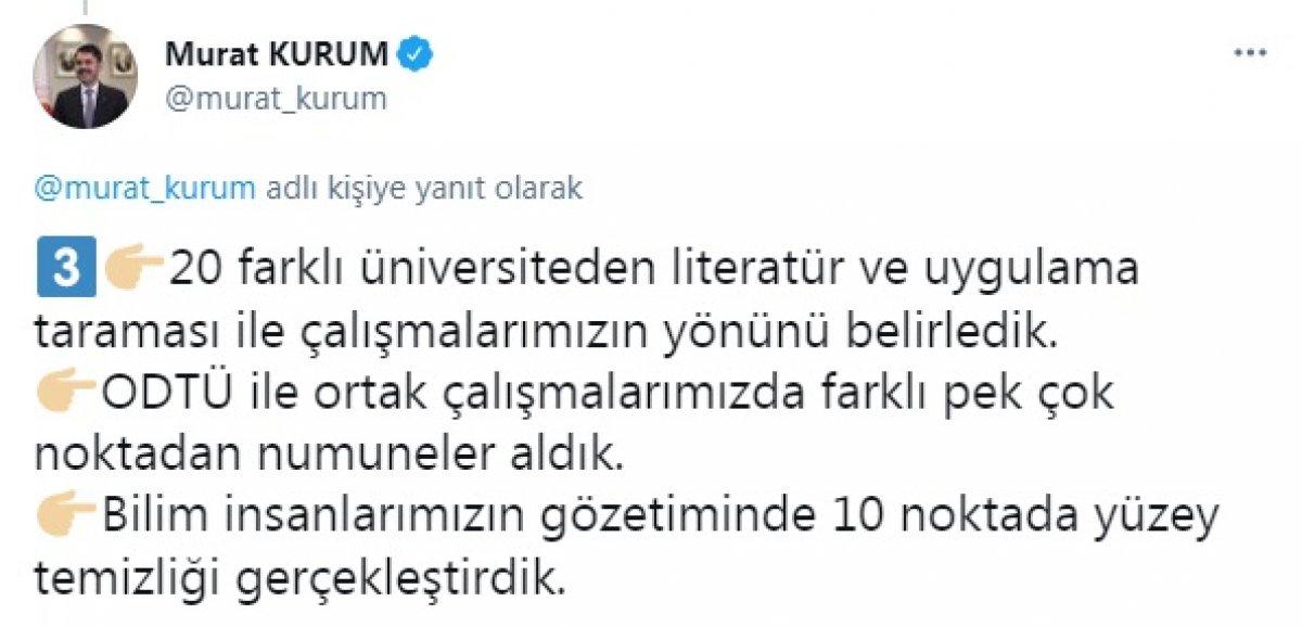 Murat Kurum: Çalışmalarımıza, 700 bilim insanı katıldı #4