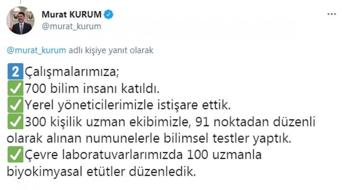 Murat Kurum: Çalışmalarımıza, 700 bilim insanı katıldı #3
