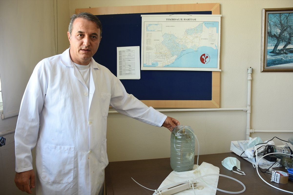 Marmara Denizi ndeki deniz salyasına, reaktif oksijen yöntemiyle çözüm #3