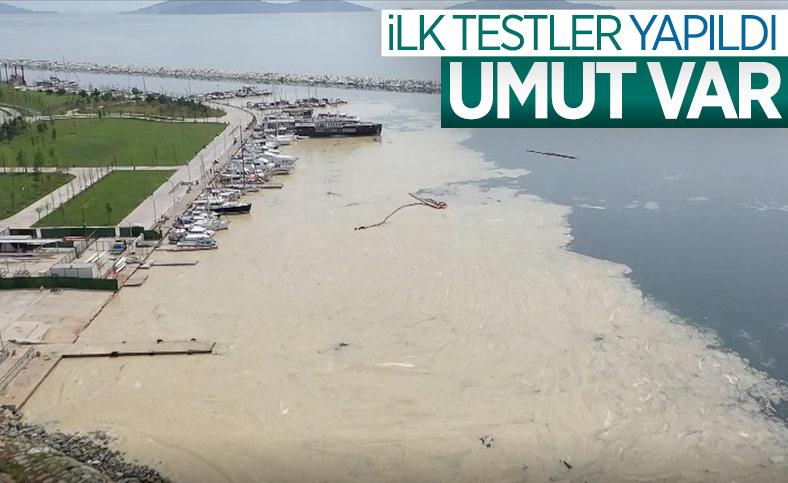 Marmara Denizi'ndeki deniz salyasına, reaktif oksijen yöntemiyle çözüm