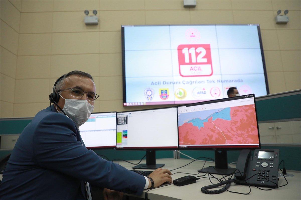 Rize de 112 Acil Çağrı Merkezi, hizmete başladı #1
