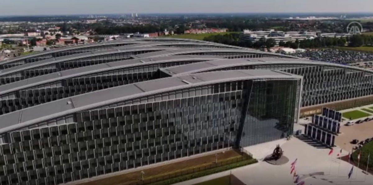 NATO Karargahı binası ilk kez havadan görüntülendi #2