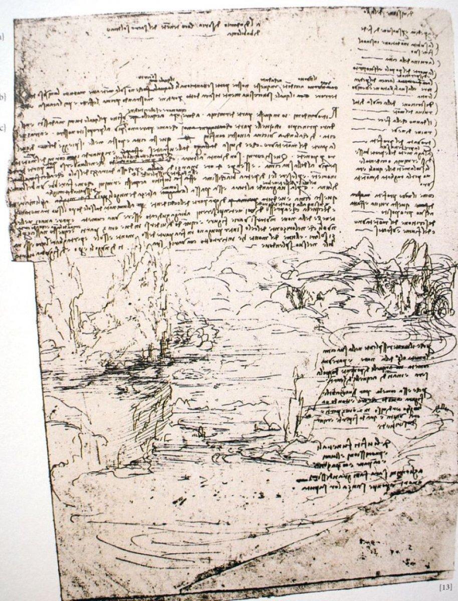 Leonardo Da Vinci, sel felaketini çözmek için Adana'ya davet edilmiş #4