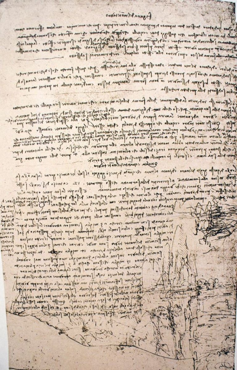 Leonardo Da Vinci, sel felaketini çözmek için Adana'ya davet edilmiş #3