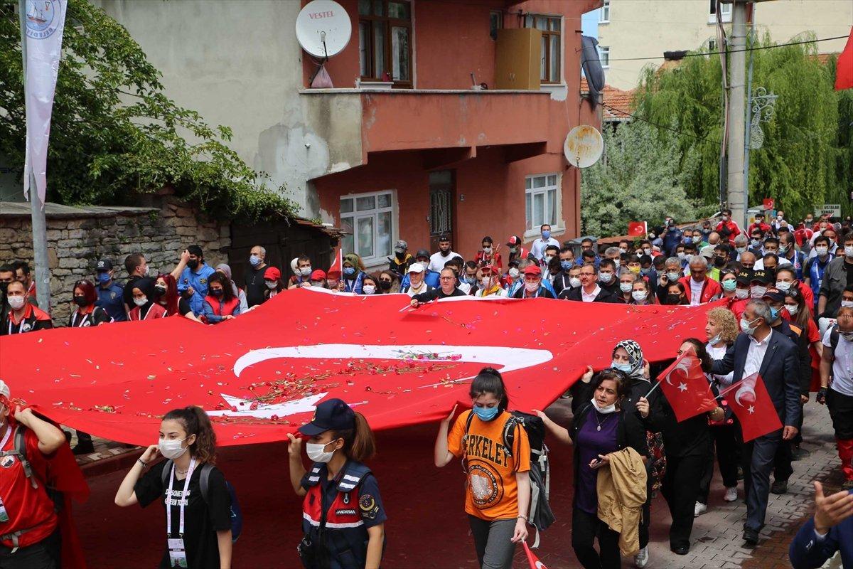 Muharrem Kasapoğlu, Atatürk ve İstiklal Yolu yürüyüşüne katıldı #7