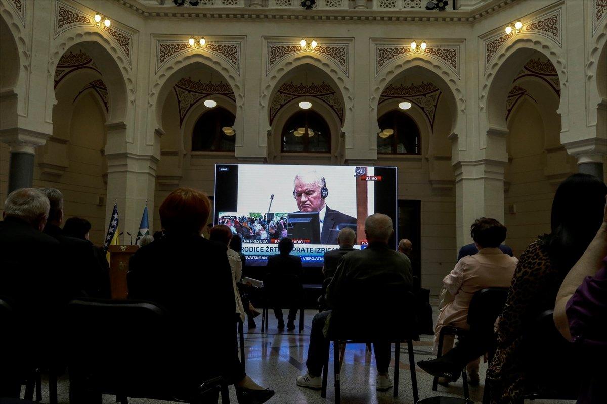 Ratko Mladic in müebbet hapis cezası onandı #7