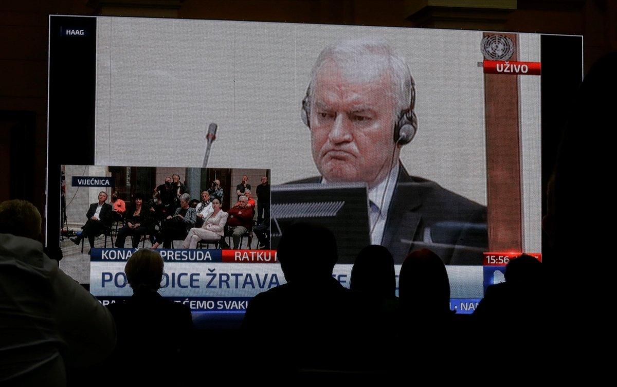 Ratko Mladic in müebbet hapis cezası onandı #3