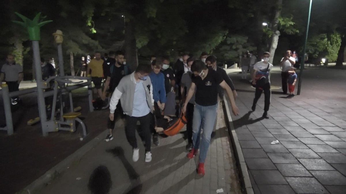 Bursa da iki grup arasında kavga: 1 yaralı #6