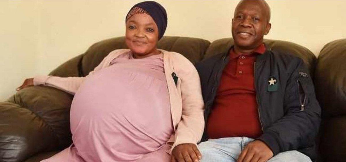 Güney Afrika da bir kadın 10 çocuk birden doğurdu #1