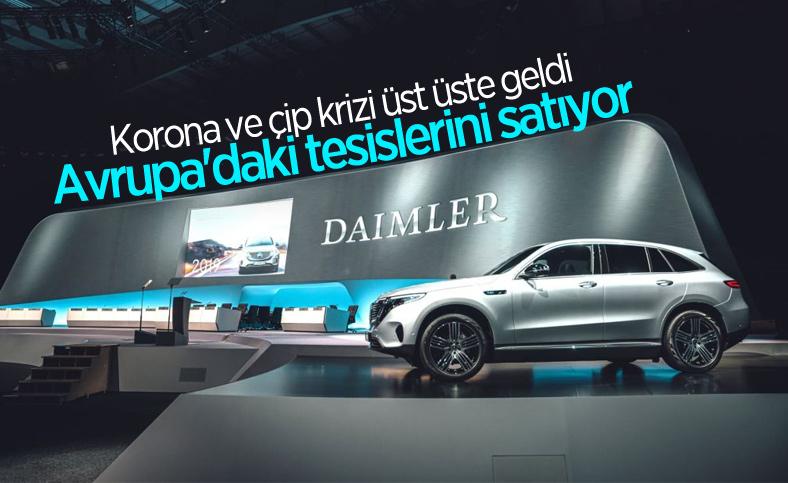 Daimler, Avrupa'daki bazı tesislerini satıyor