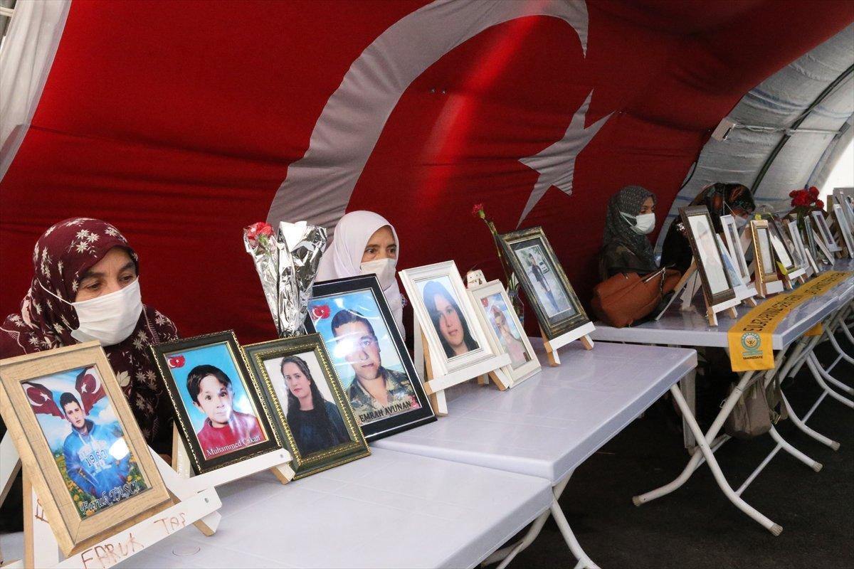 Diyarbakır'da evlat nöbeti 645'inci gününde  #5