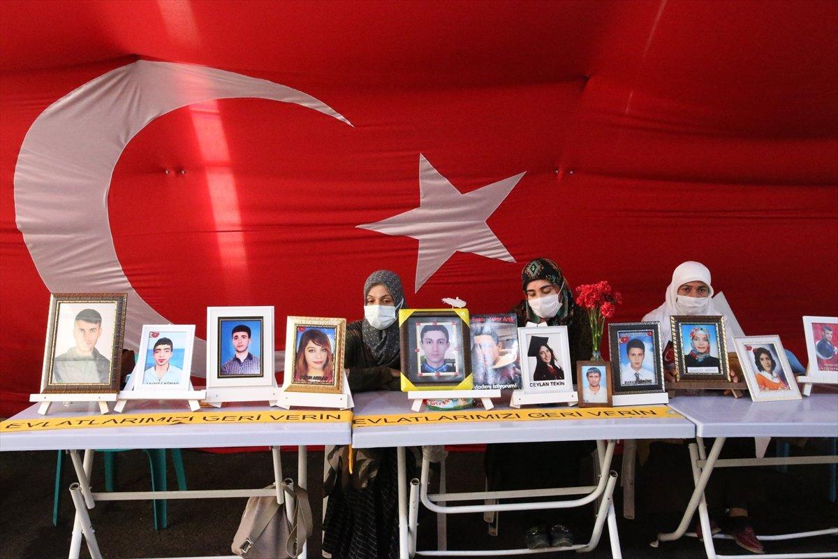 Diyarbakır'da evlat nöbeti 645'inci gününde  #6