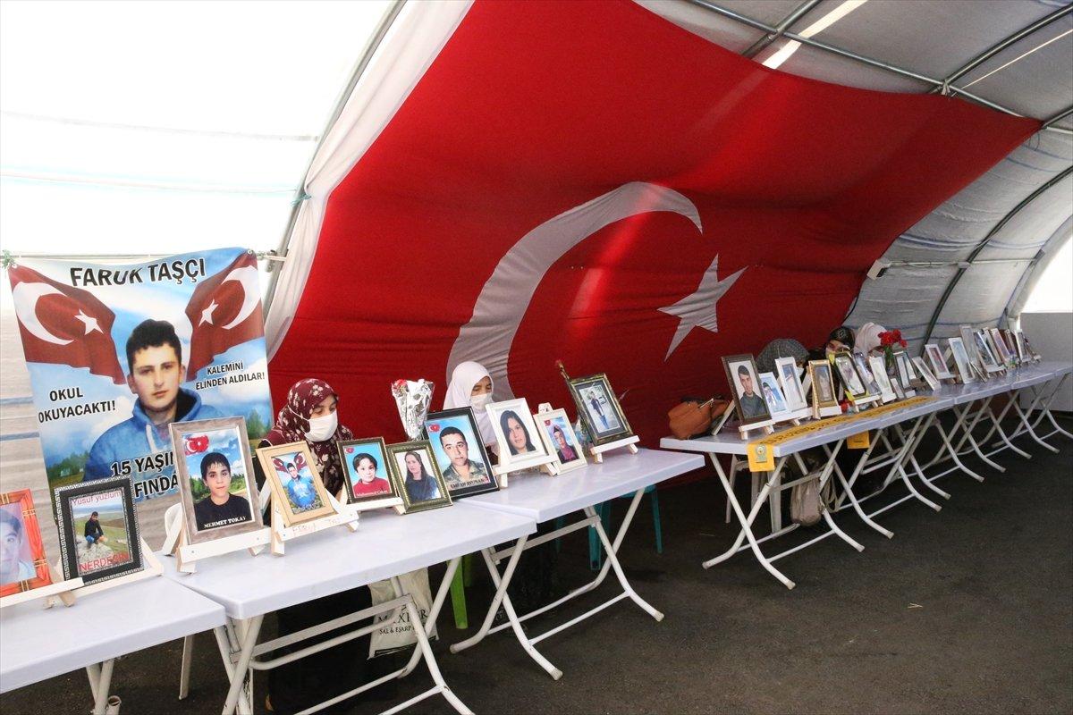 Diyarbakır'da evlat nöbeti 645'inci gününde  #7