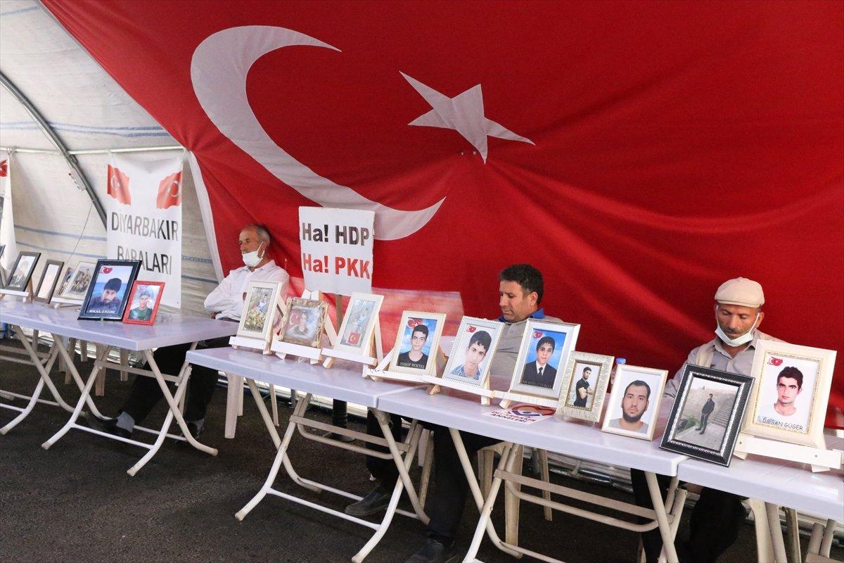 Diyarbakır'da evlat nöbeti 645'inci gününde  #3