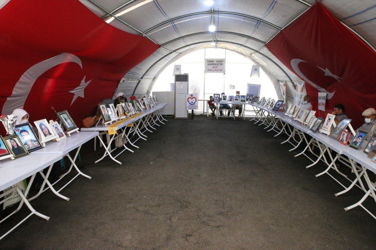 Diyarbakır'da evlat nöbeti 645'inci gününde  #8