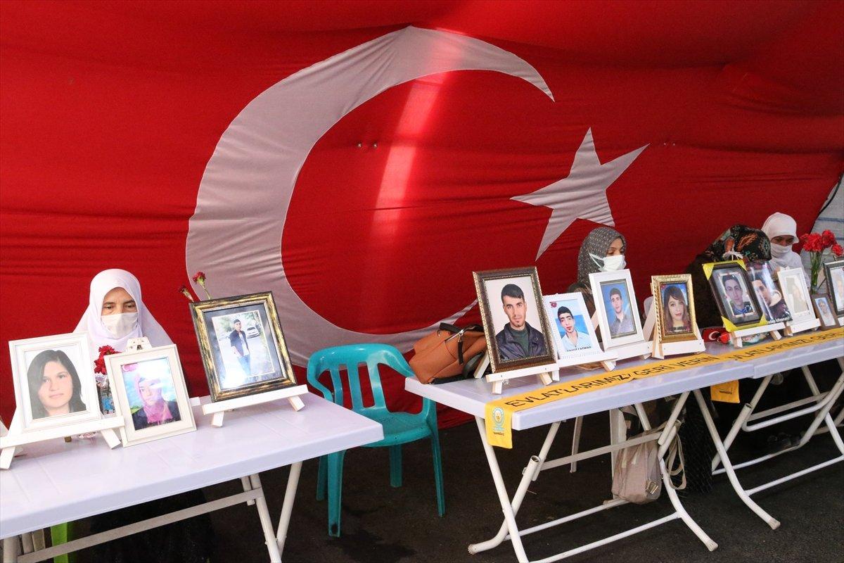 Diyarbakır'da evlat nöbeti 645'inci gününde  #4