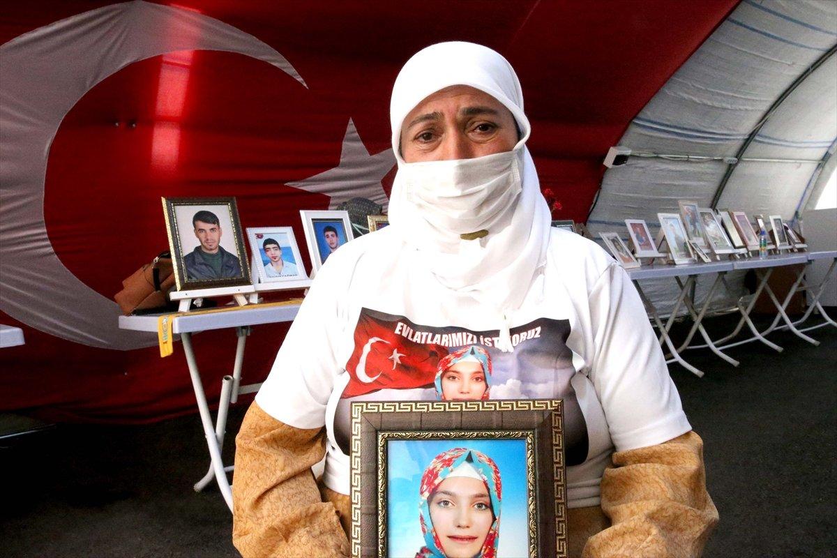 Diyarbakır'da evlat nöbeti 645'inci gününde  #1