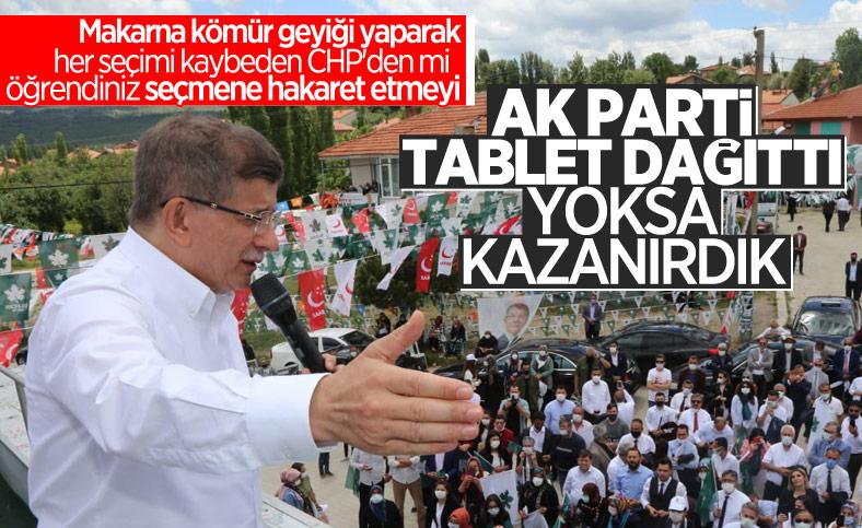 Gelecek Partili Hasan Seymen: AK Parti Güney beldesinde tablet dağıttı