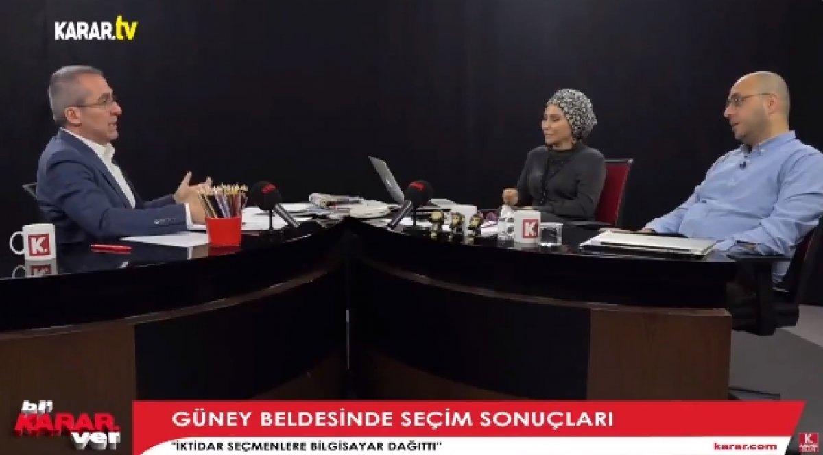 Gelecek Partili Hasan Seymen: AK Parti Güney beldesinde tablet dağıttı #1