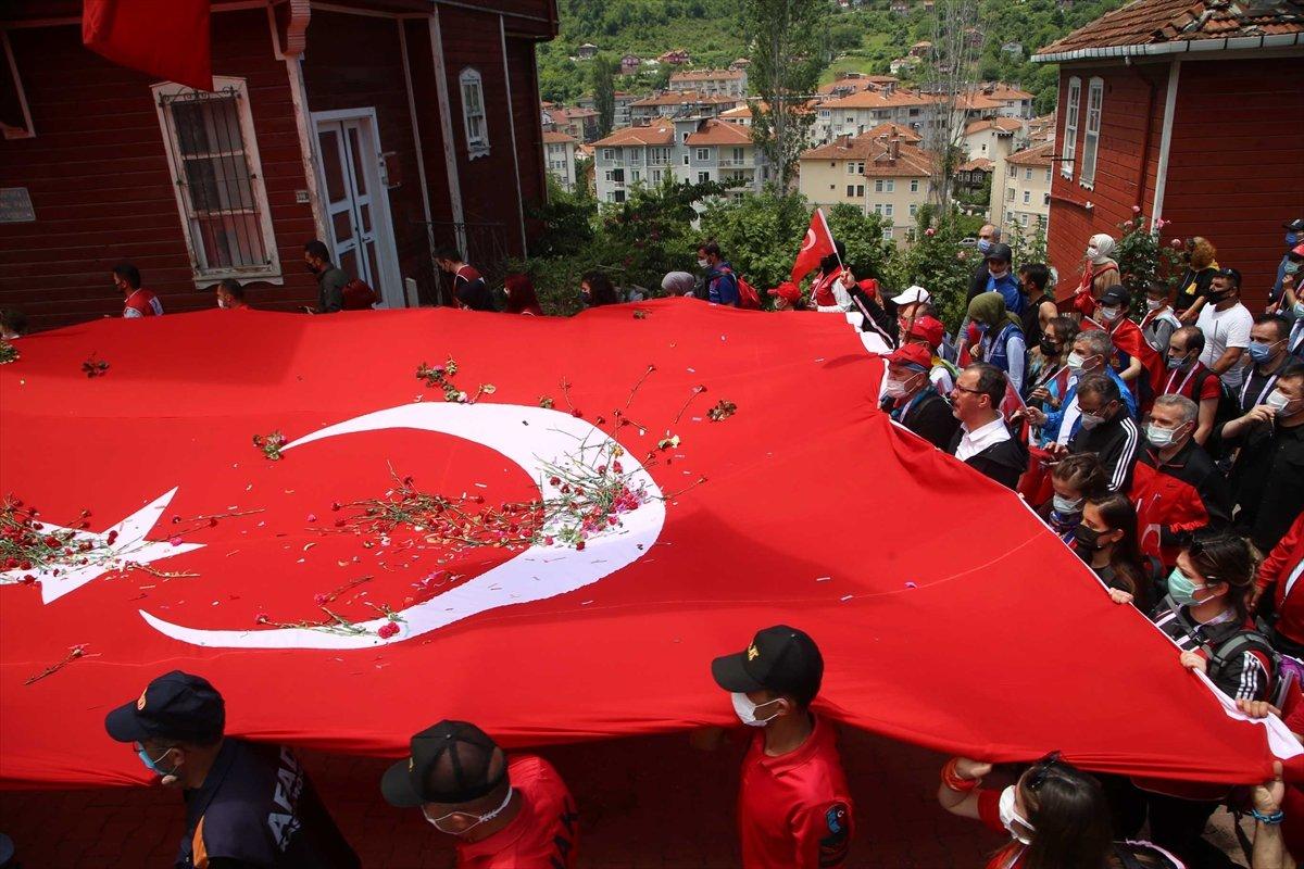 Muharrem Kasapoğlu, Atatürk ve İstiklal Yolu yürüyüşüne katıldı #5