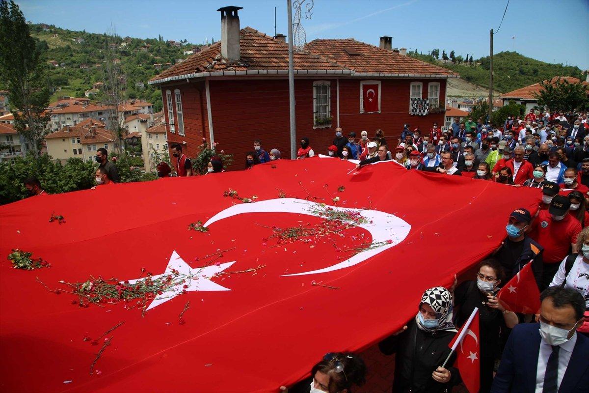 Muharrem Kasapoğlu, Atatürk ve İstiklal Yolu yürüyüşüne katıldı #6