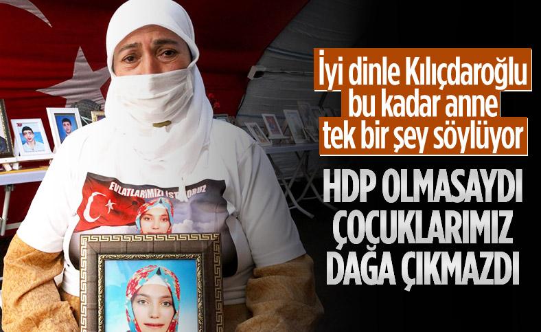 Diyarbakır annesi: HDP olmasaydı bu çocuklar gitmezdi