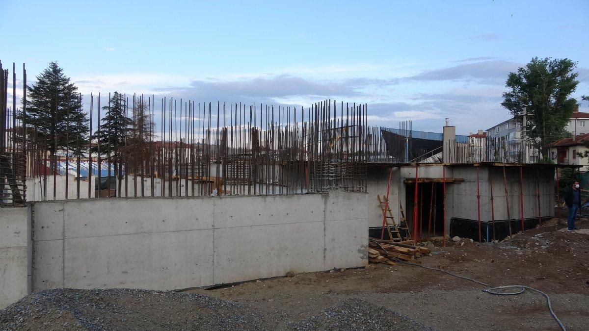Mehmet Muharrem Kasapoğlu Çankırı da yapımı süren havuz inşaatını inceledi #2